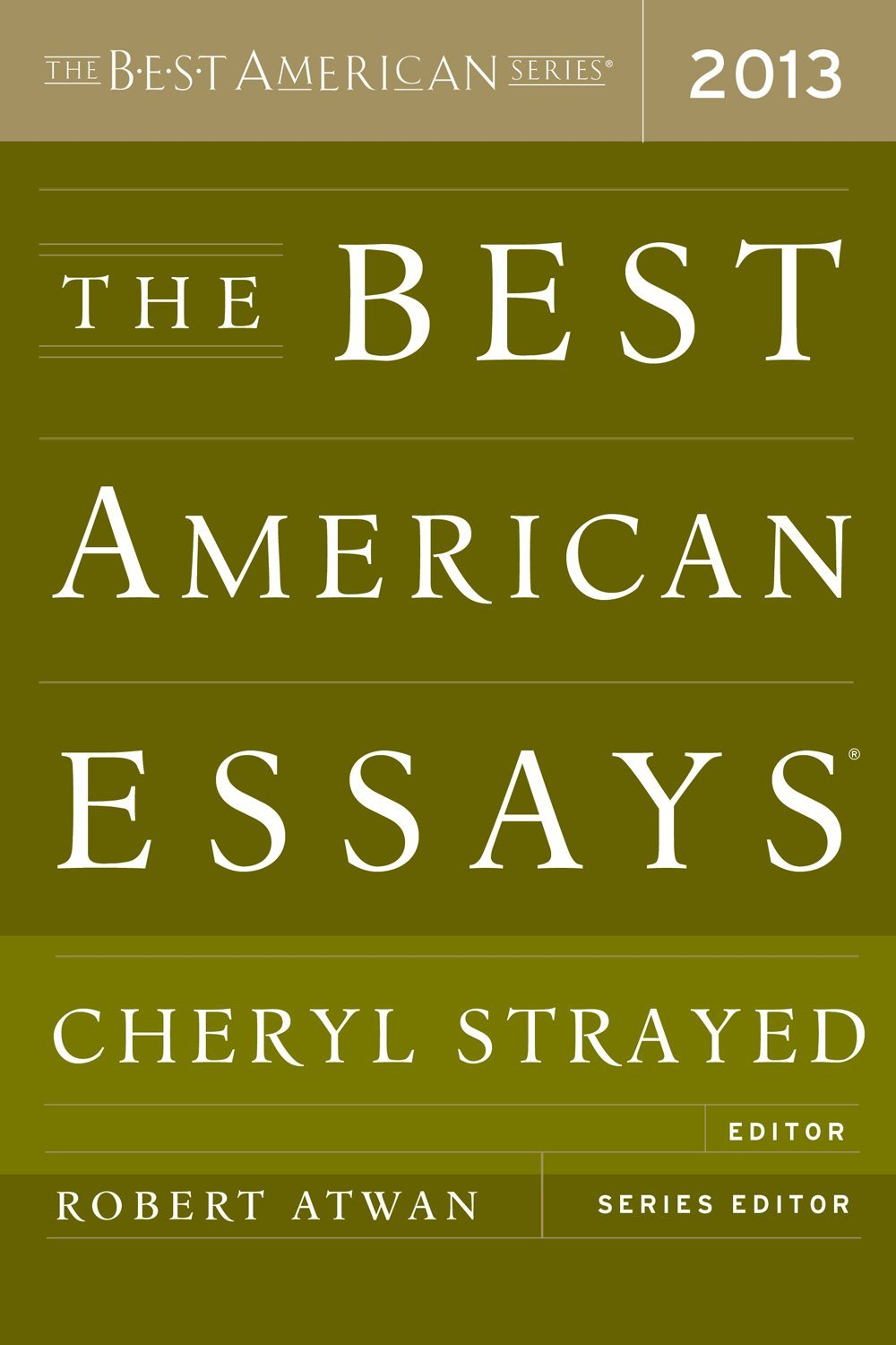 Notable Essay in The Best American Essays 2013 | brandon r. schrand